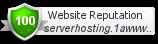 serverhosting.1awww.com Webutation